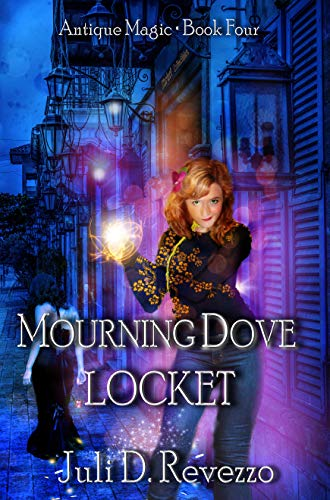 mourning dove locket by Juli D. Revezzo, urban fantasy, witches, Florida, Kindle Unlimited