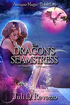 The Dragon's Seamstress by Juli D. Revezzo, urban fantasy, witches, Florida, Kindle Unlimited