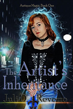 The Artist's Inheritance by Juli D. Revezzo, paranormal, fantasy, ghost, witches, witch, Fort Pickens, Florida, gift idea